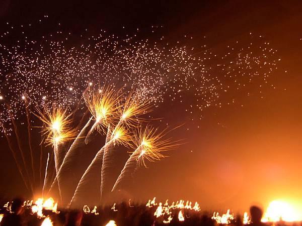 the firework show