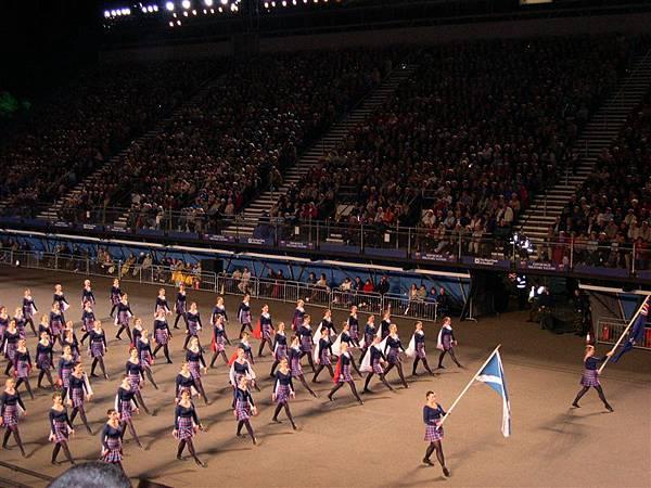 New Zealand highlanders dance