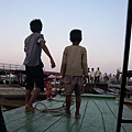 這兩個小朋友是本船的大副