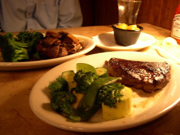 steak, steak,...