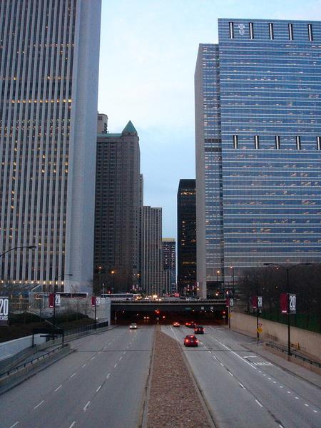 Chicago獨特的兩層都市景觀