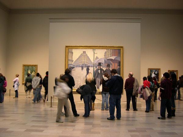 米國美術館和博物館的好處是
