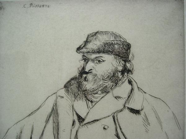 Potrait of Paul Cezanne