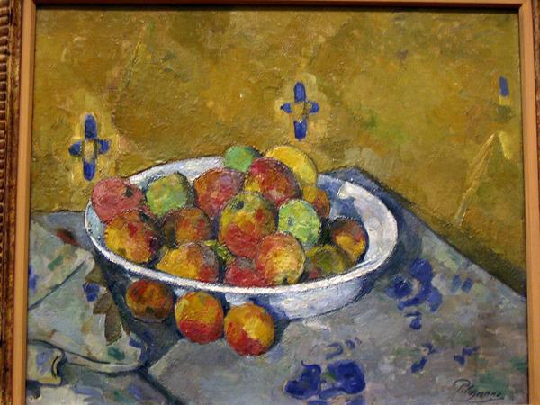 Cezanne學壞了