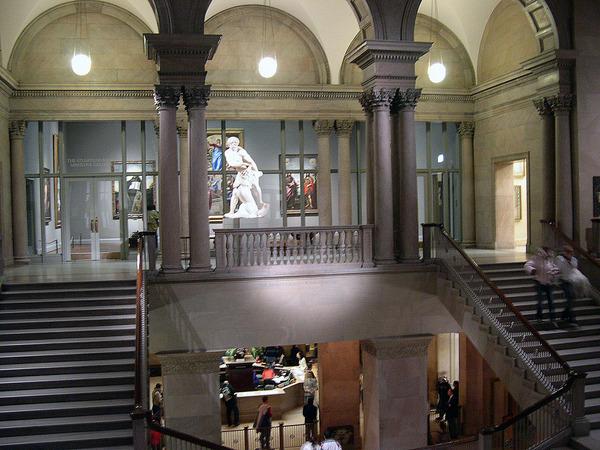 Art Institute內部