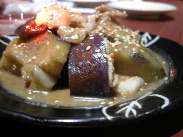 味增豬肉炒茄子
