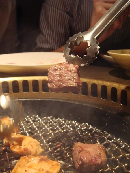 味矰大腸+牛肉