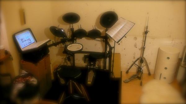 我的電子鼓..