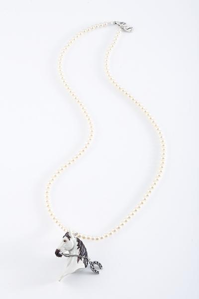 馬白珠珠長鏈