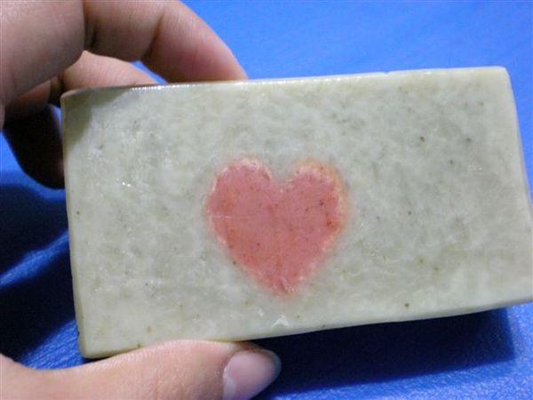 紅心手工皂