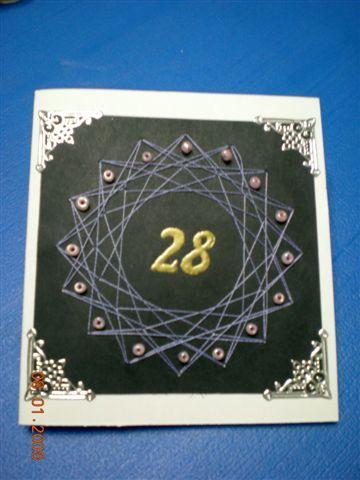 28歲生日卡
