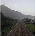 車站天橋望遠