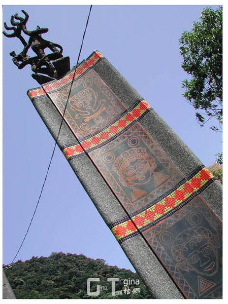 烏來新烏路泰雅族雕物