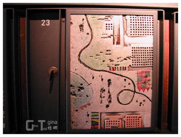 鶯歌陶博館置物櫃