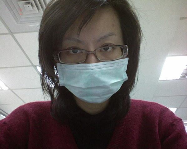 感冒戴口罩