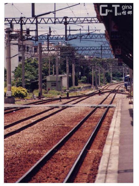 新竹火車站月台