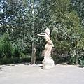飛天仙女雕像