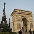 凱旋門和巴黎鐵塔