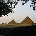 世界之窗內景 埃及金字塔