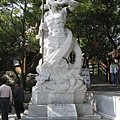 石景山公園的海鵬雕像
