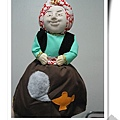 西班牙老太太做的雙面手工布偶