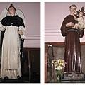 教堂中塑像