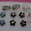 各種造型的耳環