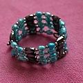 彩色珍珠手環