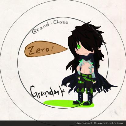 徽章稿─GC鋸魔劍(Grandark)擬人