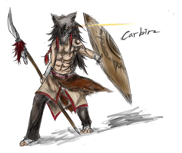 戰士Carbin(color)