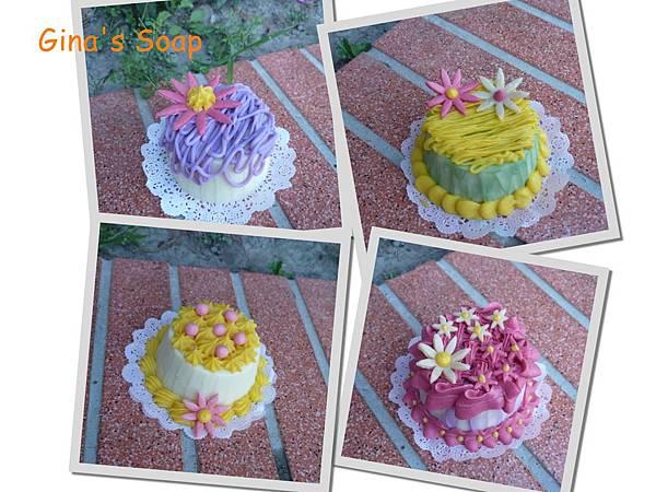 蛋糕裝飾手工皂