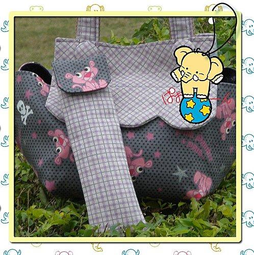粉紅頑皮豹餐袋2