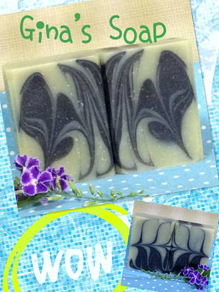 竹炭冰河泥清爽皂