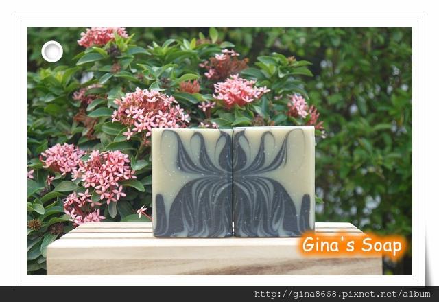 #149 竹炭冰河泥清爽皂(渲染皂)