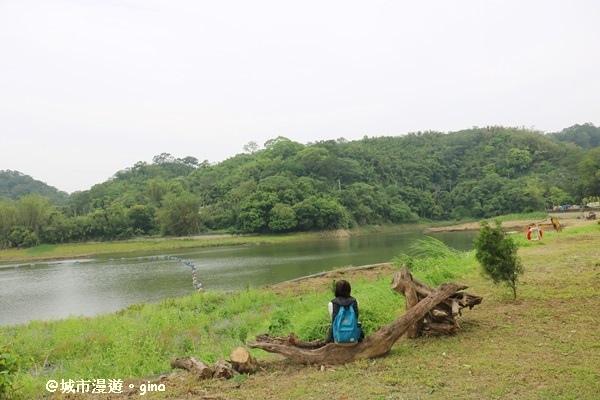 【苗栗。頭屋】湖畔悠悠好閒情。 明德水庫海棠島