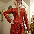 Marilyn Monroe signature red-sequined showgirl gown with feathered hat for Gentlemen Prefer Blondes sold for 1,200,000 USD