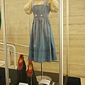 Judy Garland blue cotton test dress with polka dot trim and ivory blouse from The Wizard of Oz sold for 910,000 USD