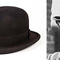 Charlie Chaplin signature bowler hat from numerous productions as The Tramp character sold for 110,000.00USD