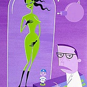 Josh Agle -The birth of Venus.jpg