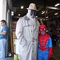來參加Costume contest的父子