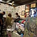 幾位洛杉磯當地藝術家以Frank and Son做為他們的作品展示間以及工作室。