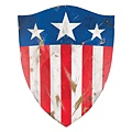 Screen-used Invaders scene Captain America shield 14,000.00USD
