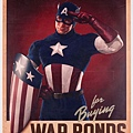 Captain America Cap Salutes You! war bonds poster 3,000.00USD