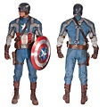 Captain America complete hero suit 01 190,000.00USD This item SOLD at 2012 Apr 14