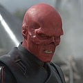 Hugo Weaving screen-worn Red Skull prosthetic makeup appliance