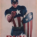 Captain America I Want You war bonds poster 1,900.00USD
