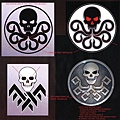 Collection of Hydra logo concept artwork02