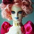 Effie Trinket OOAK Barbie doll