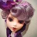 Effie Trinket OOAK doll
