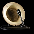 1031Sally's bowl and spoon from The Nightmare Before Christmas (Bowl measures 10 in. in diameter, spoon measures 7 in. long ) $5,500 USD.jpg